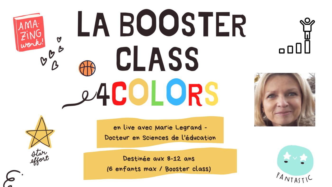 La Booster Class 4 colors